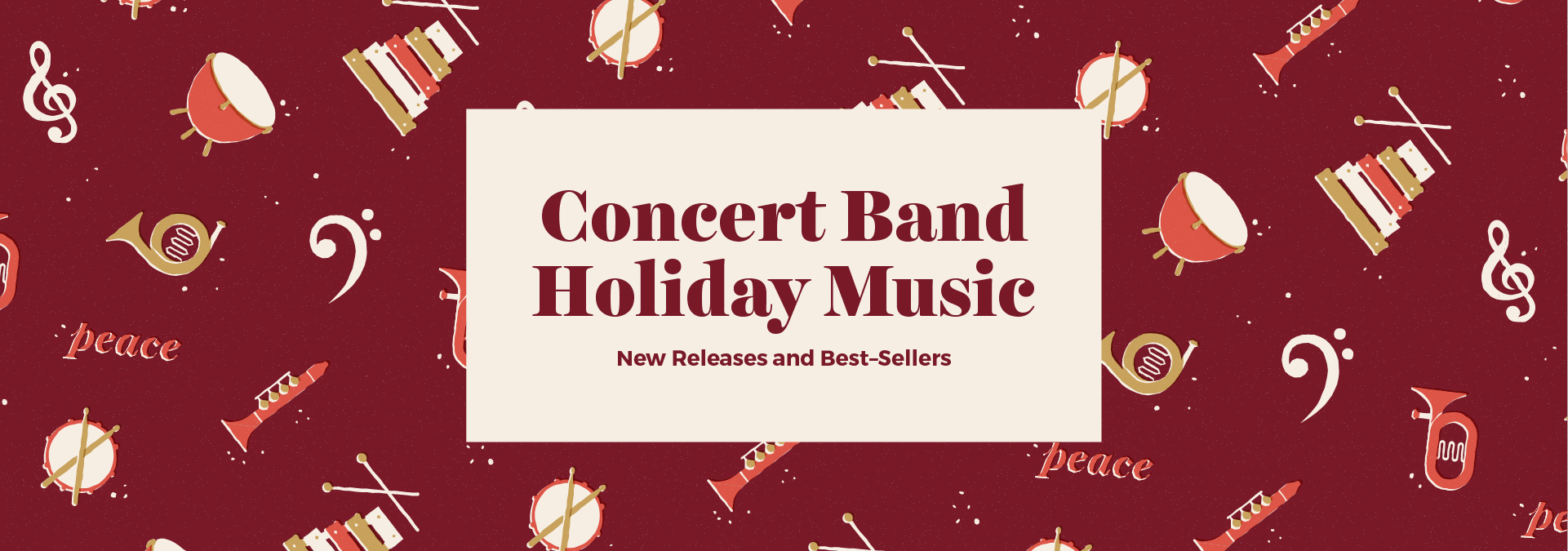 Concert Band Holiday Performance Music