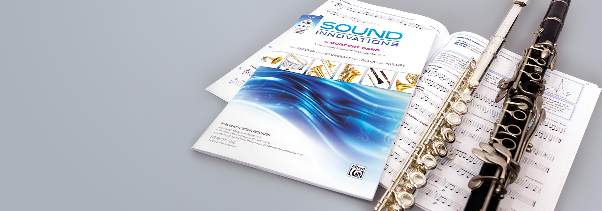 Sound Innovations for Concert Band in SmartMusic