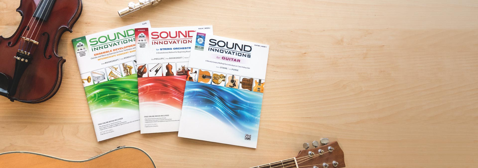 Sound Innovations for    Band, Orchestra, Percussion, and Guitar