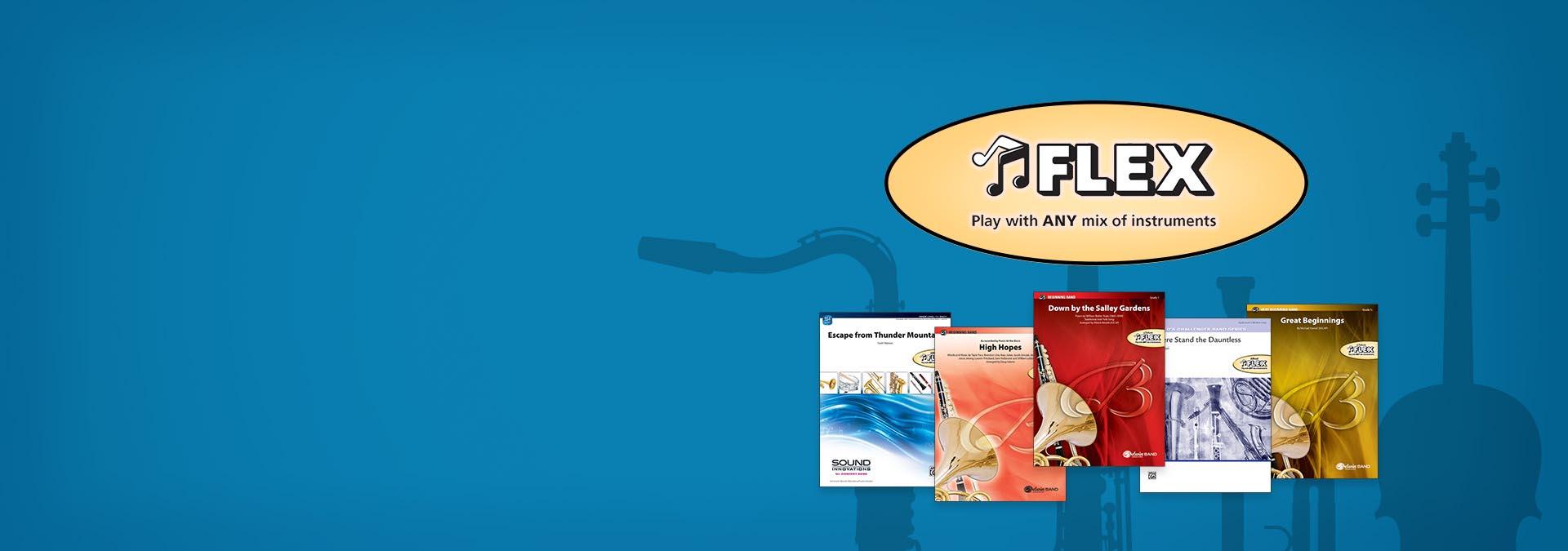 Alfred Band & String FLEX Titles Image