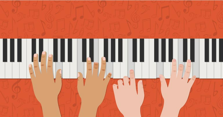 How to Make Piano Practice More Social for Students