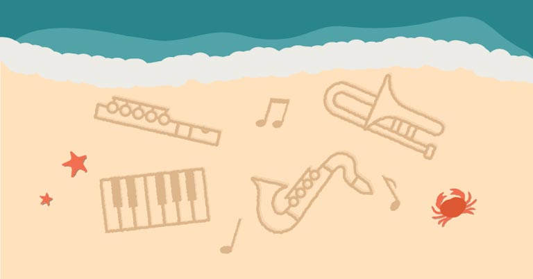 Encourage Summer Practice with Instrumental Play-Alongs