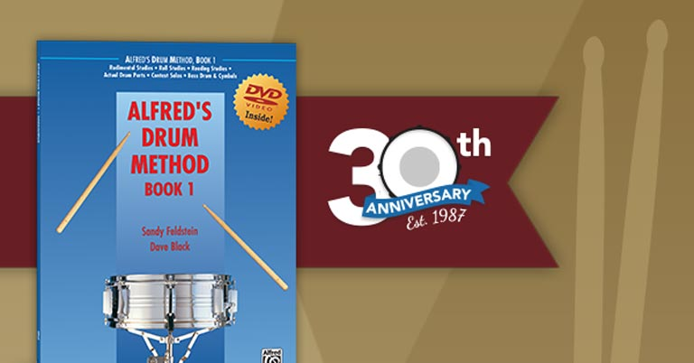 Alfred's Drum Method Celebrates 30 Years of Instruction