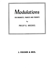 Modulations for Organists, Pianists and Students