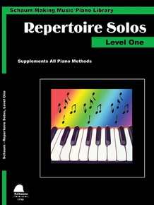 Making Music Piano Library: Repertoire Solos, Level One
