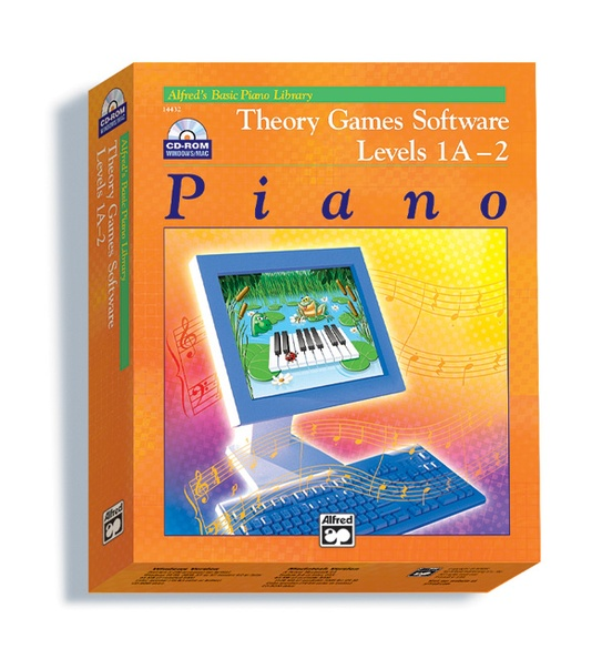 Alfred's Basic Piano Library, Theory Games for Windows/Macintosh (Version  2 0) - Levels 1A, 1B, 2