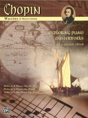 Exploring Piano Masterworks: Waltzes (3 Selections)