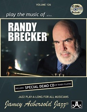 Jamey Aebersold Jazz, Volume 126: Play the Music of Randy Brecker