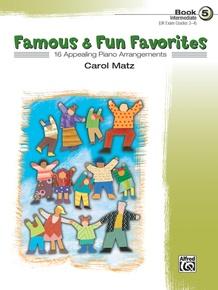Famous & Fun Favorites, Book 5