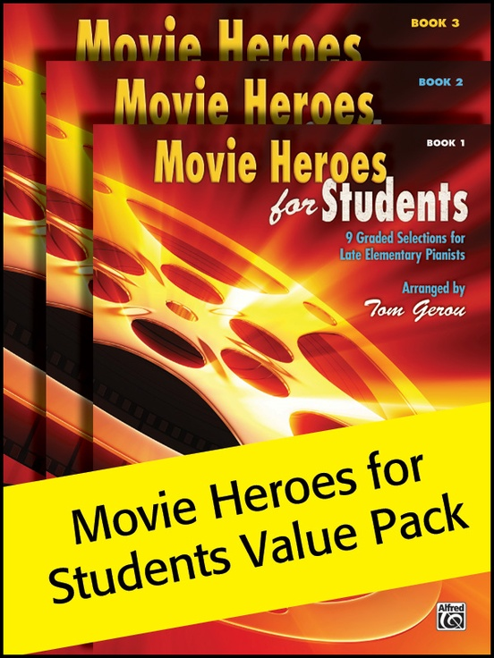 Movie Heroes for Students 1-3 (Value Pack)