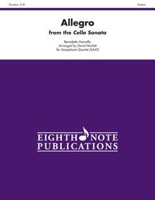 Allegro (from the <I>Cello Sonata</I>)