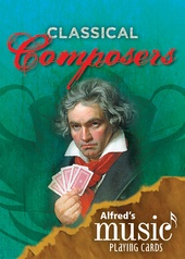 Alfred's Music Playing Cards: Classical Composers (1 Pack)