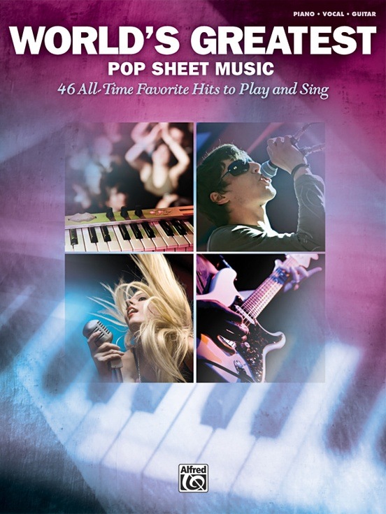 World's Greatest Pop Sheet Music