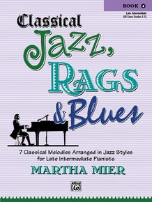 Classical Jazz, Rags & Blues, Book 4