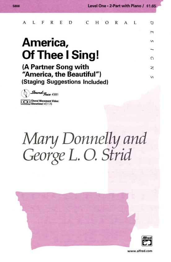 America, Of Thee I Sing!