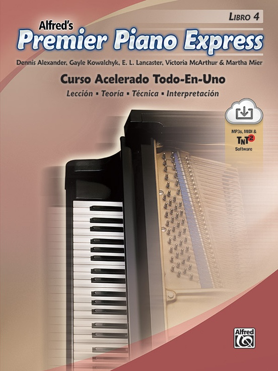 Premier Piano Express: Spanish Edition, Libro 4