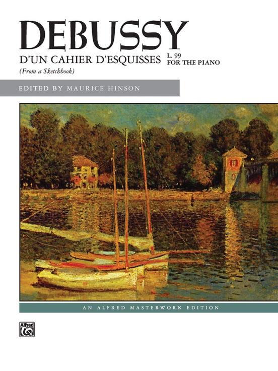 Debussy, D'un cahier d'esquisses