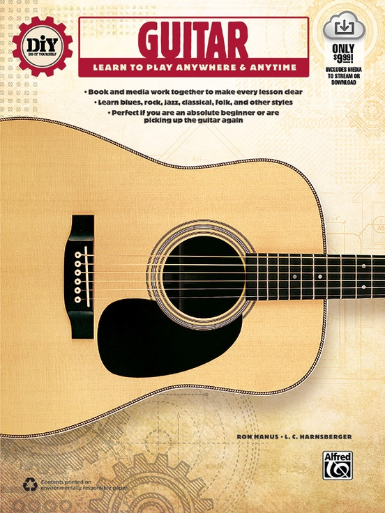 Diy Do It Yourself Guitar Guitar Book Online Audio Video