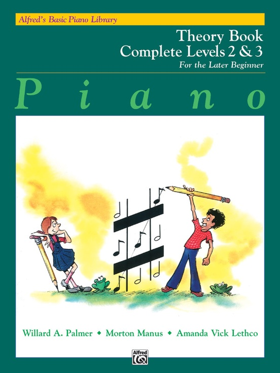 Alfred's Basic Piano Library: Theory Book Complete 2 & 3