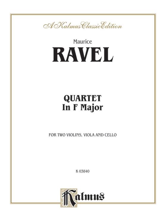 String Quartet in F Major