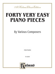 Forty Very Easy Piano Pieces