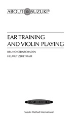 Ear Training and Violin Playing