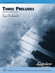 Three Preludes (for right hand alone)