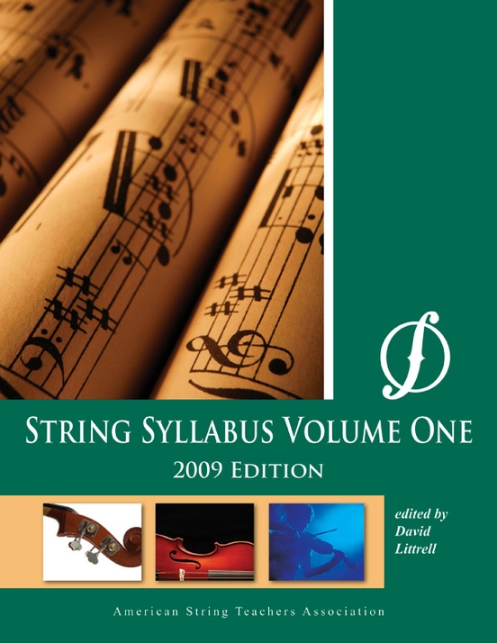 String Syllabus Volume One (2009 Edition)