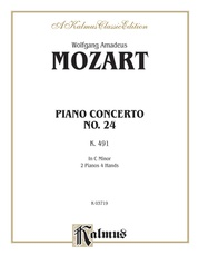 Piano Concerto No. 24 in C Minor, K. 491