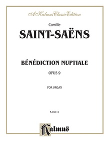 Benediction Nuptiale, Opus 9