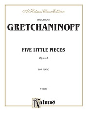 Five Little Pieces, Opus 3