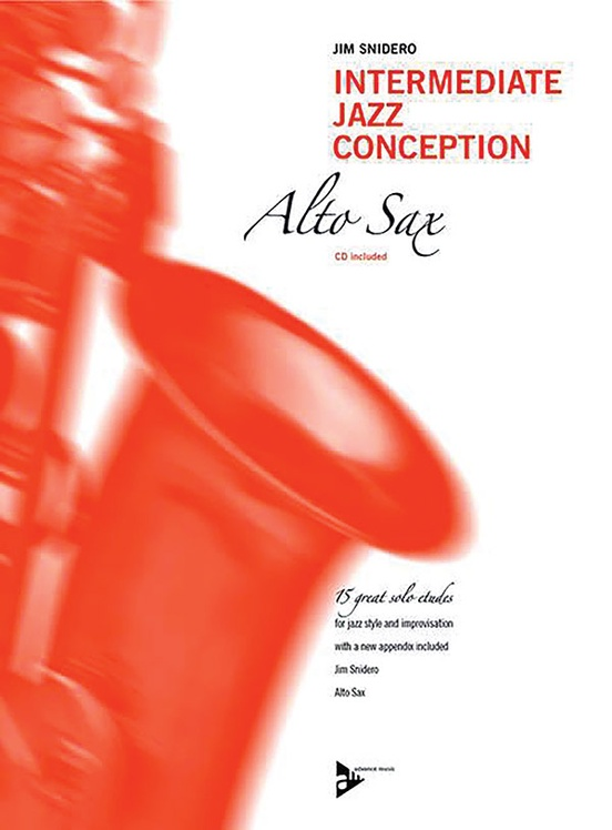 Intermediate Jazz Conception: Alto & Baritone Sax