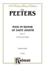 Mass in Honor of Saint Joseph, Opus 21