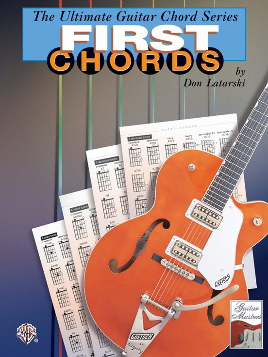 The Ultimate Guitar Chord Series First Chords Guitar Book