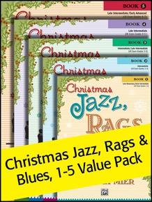 Christmas Jazz, Rags & Blues 1-5 (Value Pack)