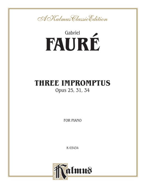 Three Impromptus
