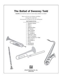 The Ballad of Sweeney Todd (from the musical <i>Sweeney Todd</i>)
