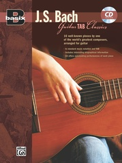Basix® Guitar TAB Classics: J. S. Bach