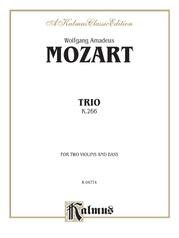 Trio, K. 266