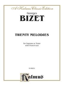 Twenty Melodies for Soprano or Tenor