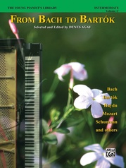 The Young Pianist's Library: From Bach to Bartók, Book 1C