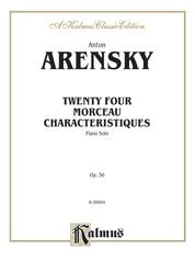 Twenty-Four Morceau Characteristiques, Opus 36