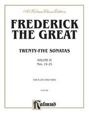 Twenty-five Sonatas, Volume IV (Nos. 19-25)