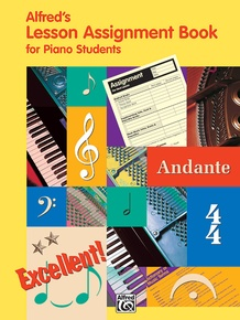 Alfred's Lesson Assignment Book for Piano Students