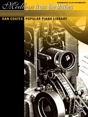 Dan Coates Popular Piano Library: Medleys from the Movies