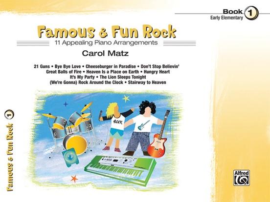 Famous & Fun Rock, Book 1