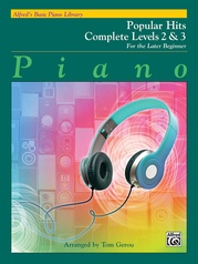 Alfred's Basic Piano Library: Popular Hits Complete Levels 2 & 3