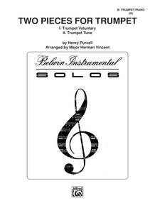 Two Pieces for Trumpet (Trumpet Voluntary, Trumpet Tune)