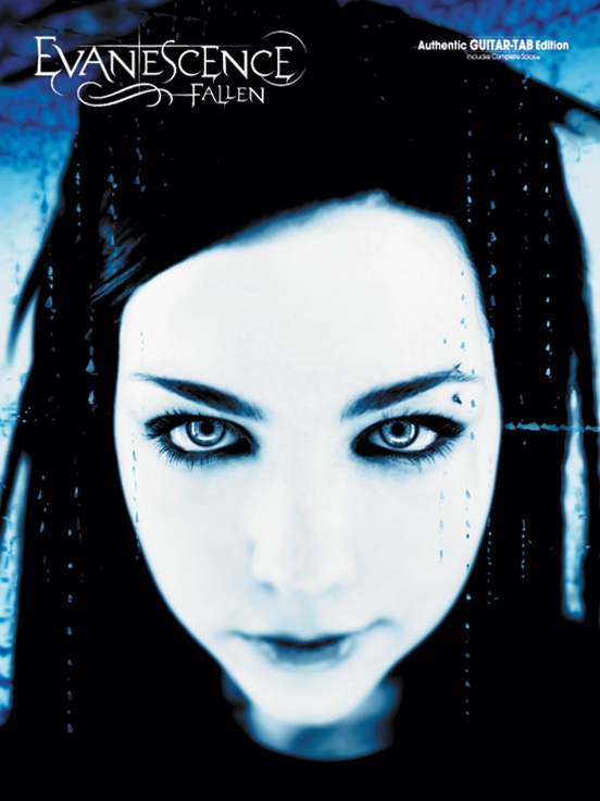 Evanescence Fallen Authentic Guitar Tab Book Evanescence