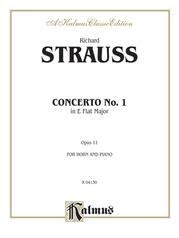 Horn Concerto No. 1 in E-flat Major, Opus 11
